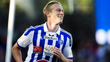Mikael Forssell pelasi HJK:ssa tehokkaat 1,5 vuotta 2013–2014.