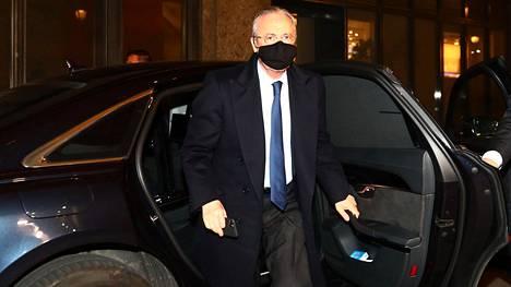 Real Madridin puheenjohtaja Florentino Perez.