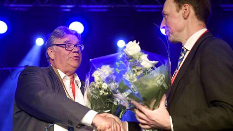 Valta vaihtui Perussuomalaisissa viikonloppuna.