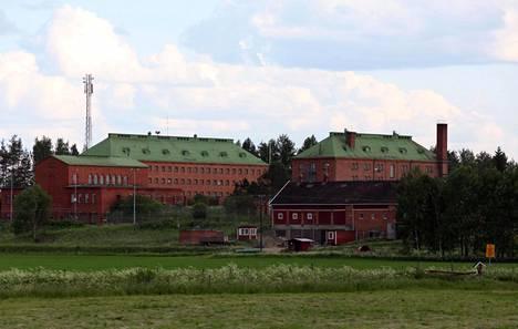 Konnunsuon vankila Lappeenrannassa. Nykyisin rakennuksessa toimii vastaanottokeskus.