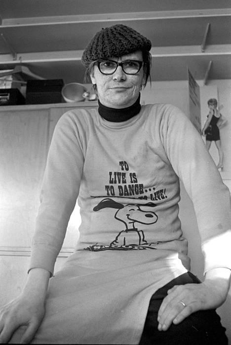 Juha Vainio kuvattuna vuonna 1970.
