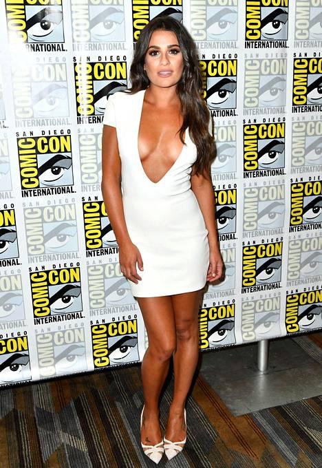 Leah Michele ponnahti tähdeksi hittisarja Gleestä.