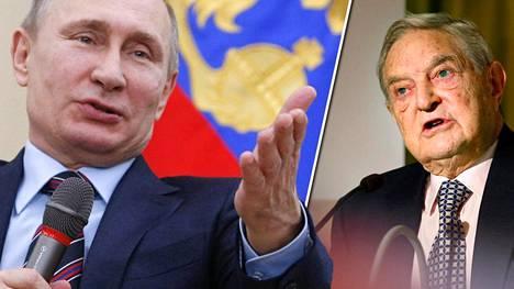 Soros arvioi, että Putin on lahjakas taktikko, muttei strateginen ajattelija.