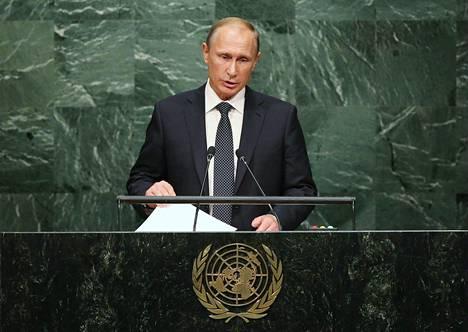 Putin hahmotteli puheessaan liittoumaa, joka olisi samanlainen kuin Hitleriä vastaan aikoinaan muodostettu liittouma.