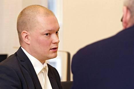 Valtiosihteeri Samuli Virtanen.