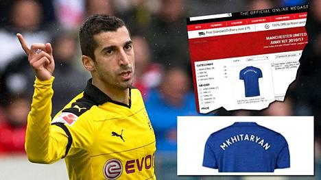 Henrikh Mkhitaryan on pelannut Dortmundissa mainiosti. Ensi kauden osoite lienee Manchester United.