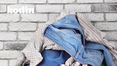 Kertyykö sinunkin kotiisi puolipitoisten vaatteiden kasoja?