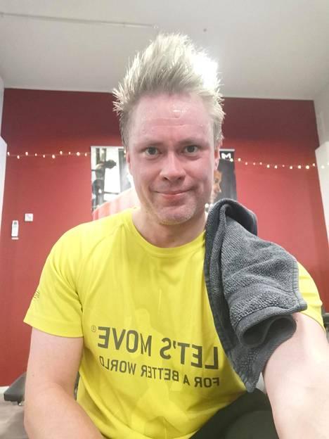 Jani Huotari on jo toisen polven fysioterapia- ja kuntosaliyrittäjä.