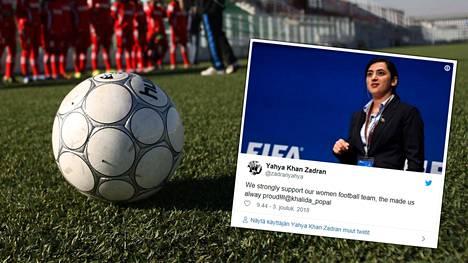 Khalida Popal on kertonut julkisuuteen kovia syytöksiä Afganistanin jalkapalloliiton johtajasta ja valmentajista. Maajoukkuetta aiemmin sponsoroinut urheilufirma Hummel on vetänyt tukensa pois hyväksikäyttöskandaalin vuoksi.