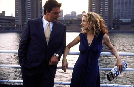 Herra Kihon ja Carrien myrskyisä rakkaus oli Sinkkuelämää -sarjan keskiössä.