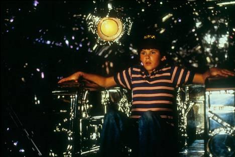 Joe Cramer elokuvassa Avaruuden sankari vuonna 1986.