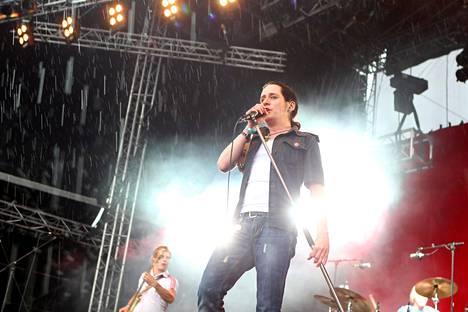 Ensimmäisen kerran bändi palasi 2009. Kuva Ruisrockista.