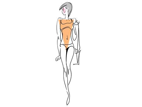 Kolmio- eli V-vartalotyyppi.