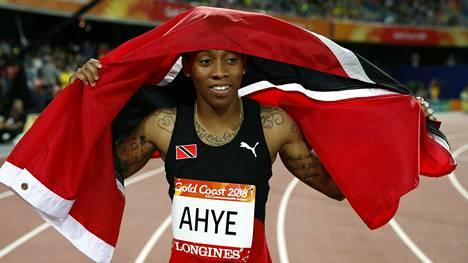 Michelle-Lee Ahye on kilpailukiellossa.