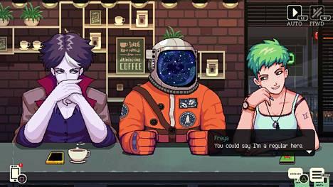 Coffee Talk -pelissä tehdään kuppi kuumaa ja rupatellaan asiakkaille. Samalla erikoiset persoonat tulevat tutuiksi ja vangitseva tarina aukeaa.