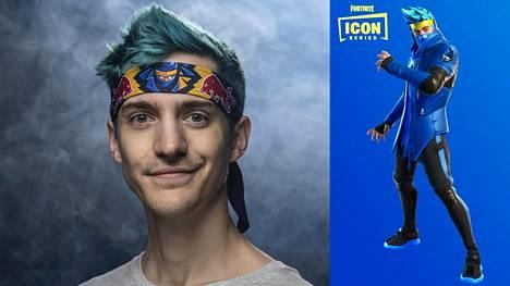 "Tyler ""Ninja"" Blevins, 28, on maailman tunnetuin Fortnite-pelaaja."