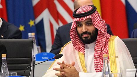 Saudi-Arabian kruununprinssi Muhammad bin Salman kuvattiin G20-kokouksessa Buenos Airesissa 30. marraskuuta 2018.