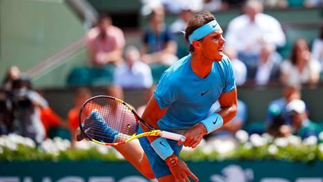 Rafael Nadalille 11. Ranskan avointen finaali – vastassa ensikertalainen