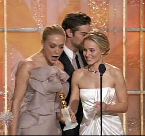 Näin repeää Chloe Sevignyn puku Golden Globe -gaalassa!