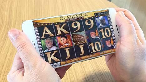 Miljoonavoitto tuli Veikkauksen nettikasinon Gladiator Jackpot -pelistä.
