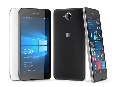Lumia 650 on viimeisin Microsoftin julkaisema puhelin.