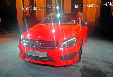 Mercedes Benzin B-mallista odotetaan kilpailijaa etenkin BMW:n uudelle 2-sarjan Active Tourerille.