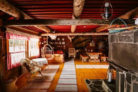 Netflix-sarjaan päätyneessä Ollero Eco Lodgessa on majoituspaikat vain kuudelle.