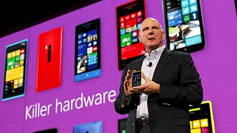 Microsoftin toimitusjohtaja Steve Ballmer.