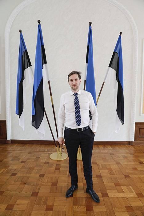 Jaak Madison on Ekere-puolueen ensimmäinen europarlamentaarikko.