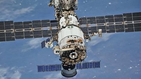 Kansainvälisellä avaruusasemalla haisi palanut muovi.