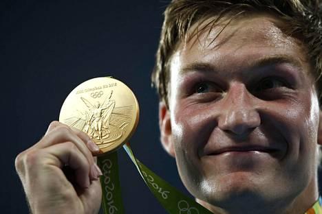 Kauden tilastoykkönen Thomas Röhler piti pintansa Rion olympiafinaalissa.