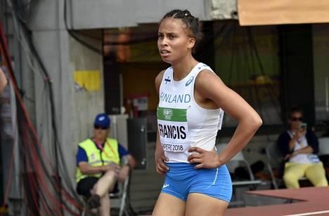 Sara Francis löysi ennätysvauhdin Ratinan alkueräjuoksussa