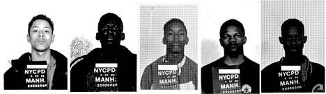 Raymond Santana, Yusef Salaam, Korey Wise, Kevin Richardson ja Antron McCray tuomittiin hyökkäyksestä vankilaan.