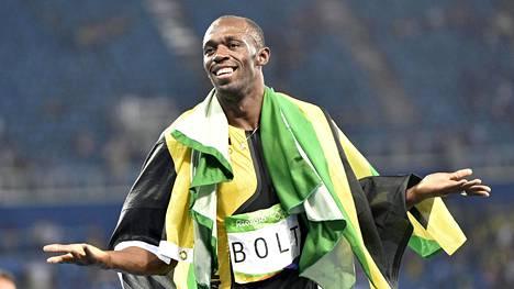 Usain Bolt on ainoa yleisurheilija, joka mahtuu talouslehti Forbesin sadan eniten tienaavan urheilijan listalle.