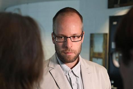 KRP:n rikoskomisario Antti Perälä.