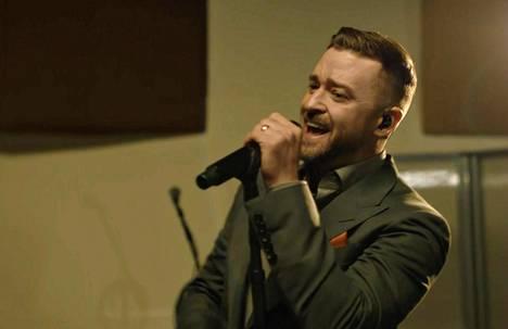 Justin Timberlake lauloi Memphisissä.