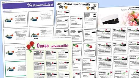 Etelä-Pohjanmaan alueen maakunta- ja paikallislehdissä on julkaistu viime päivinä jopa satoja ilmoituksia, joissa juhlistetaan tuoreita ylioppilaita. Ilmoituksiin on ilouutisen lisäksi kirjattu tilinumero.