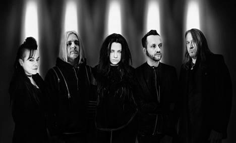 Evanescence saapuu kesäkuussa Tampereelle.