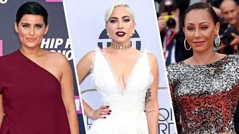 Nelly Furtado, Lady Gaga ja Mel B ovat kieltäytyneet Playboyn kuvauksista.