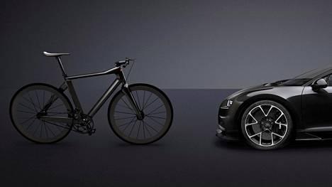 Kaksi Bugattia: hintaero noin 2,5 miljoonaa.