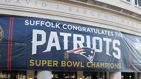 NFL-mestari New England Patriots jäi kiinni vastustajan vakoilusta.