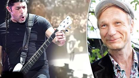 """Ismo Alanko häkeltyi Metallican jymy-yllätyksestä – megayhtyeen Hassisen kone -veto aiheutti hässäkän: """"Puhelin alkoi laulaa taukoamatta"""""""