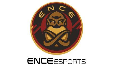ENCEn alkuperäinen logo ja tekstiversio.