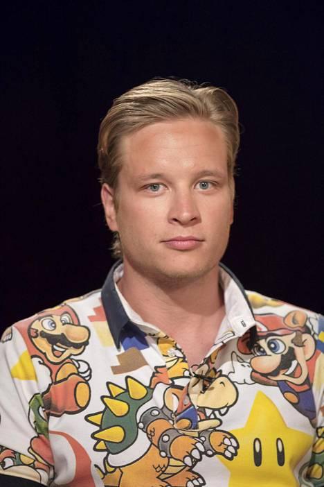 Antti osallistui Napakymppiin jo toista kertaa.