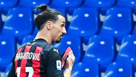 Zlatan Ibrahimovic on taas kohun keskellä.