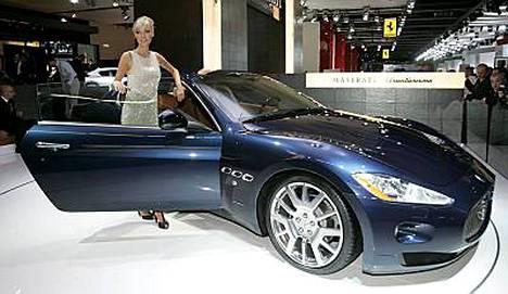 Kuvassa Maserati Gran Turismo.