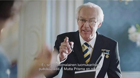 Hän on Jan Wolfhagen. Mies elättää itsensä taikurikeikoilla ja imitoimalla Ruotsin kuningasta.