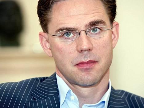 Ei ole mitään suurta erillistä valtion rahapussia, josta rahaa voisi loputtomiin ammentaa, sanoo Jyrki Katainen.
