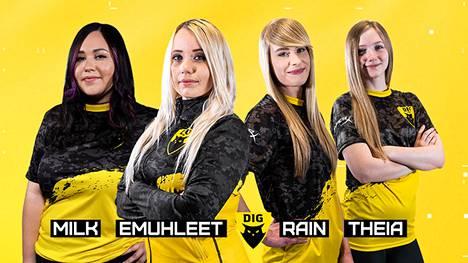 Dignitasin CS-naisjoukkue kilpailee jatkossa myös Valorantissa.