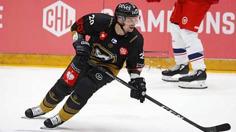 Janne Pesonen pelasi viimeisen kautensa Oulun Kärpissä.
